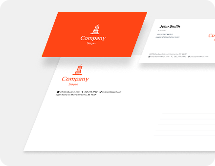 Business card, envelope, letterhead